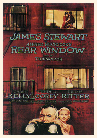 hitchcock rear window essay A1608947 elisha kendrick film studies 1 in what ways can rear window be seen as an essay on voyeurism in a cold war affected america, when the public were encouraged.